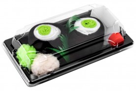 Skarpetki Sushi Socks Box - 3 pary - Omlet Tamago, Maki Ogórek, Tuńczyk