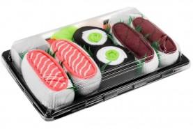 Tuna Salmon Cucumber Maki Sushi Socks