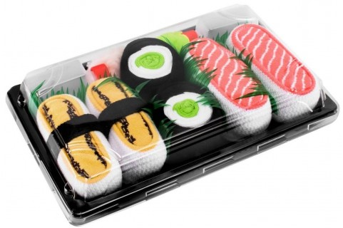 5 pairs - Butterfish, Salmon, Maki Tuna, Cucumber, Turnip