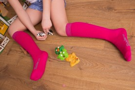 Cotton Knee High Socks Kids