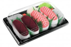 Sushi Socks Tuna Salmon