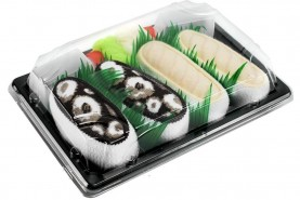 Sushi Socks Box Butterfish Octopus