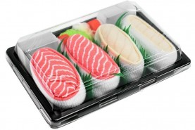 Sushi Socks Box Salmon Butterfish