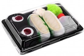 Sushi Socks Box Butterfish Maki Tuna