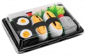 Sushi Socks Box Tamago Maki Oshinko