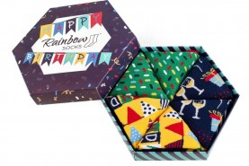 Happy birthday bulletpoint Socks
