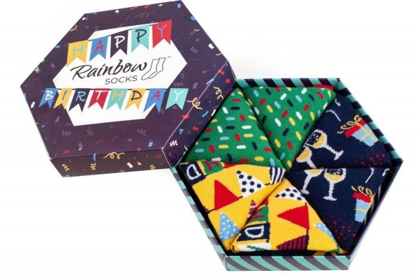 Emoji Dress Socks Box - 3 Pairs