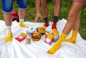 Meal Socks looking like real foods