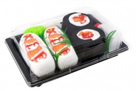 Sushi Socks Box Shrimp Maki Nigiri