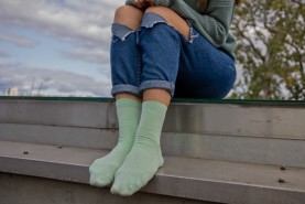 Bamboo Unisex Crew Socks