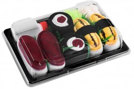 Children's Sushi Socks Box Tuna