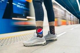 Original and Funny Gift Idea Pepsi Socks for fans