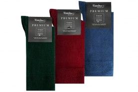 antibacterial cotton socks for men, bottle green red jeans