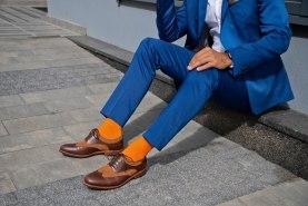 antibacterial cotton socks for men, business socks