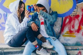 pepsi x rainbow socks funny gift for him and for her