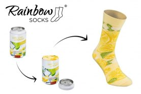 Funny Cold Lemonade Socks For Woman and For Man