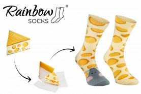 cheese socks box mouse and cheese