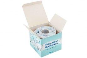 Toilet Paper Socks Box 2 Pairs, white cotton socks