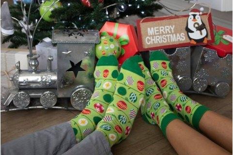 Pizza & Beer Socks Box