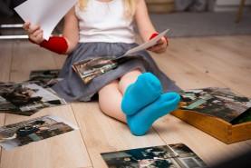 Dziecięce bawełniane stopki