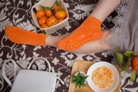 Bamboo Socks Non Slip ABS Grips