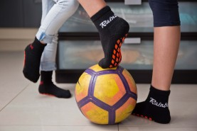 Children's Non Slip NEON Sport Socks
