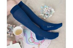 Cotton Openwork Women, Knee High Socks