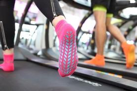 Non Slip Sport Socks ABS Neon