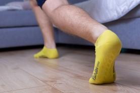 bawełniane stopki antypoślizgowe
