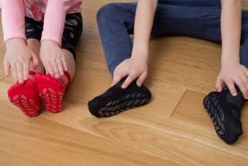 Cotton Socks Anti-Slip for children's