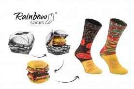 funny Burger socks