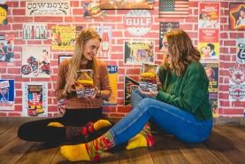 Burger socks for Women