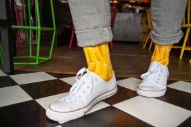 gift for fries fan, fries socks men
