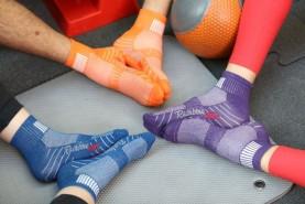 bawełniane skarpetki sportowe idealne na trening na siłowni