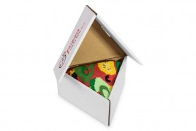 Pizza skarpetki 1 para, pizza wegetariańska, bawełniane kolorowe skarpety od Rainbow Socks