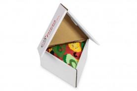 Vegetarian Pizza Socks, 1 Pair, colourful cotton socks