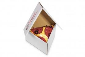 Pizza skarpetki w pudełku 1 para, pizza pepperoni, prezent dla fana pizzy