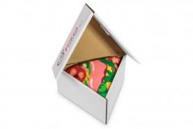 Pizza skarpetki w pudełku od Rainbow Socks, zestaw 1 para, pizza włoska