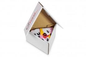 Pizza skarpetki w pudełku 1 para, pizza capriciosa, bawełniane skarpety wysokiej jakości
