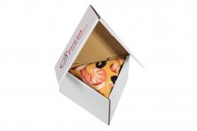 Pizza skarpetki w pudełku 1 para, pizza owoce morza, kolorowe bawełniane skarpety