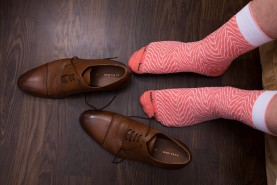 Salmon Sushi Socks for Men
