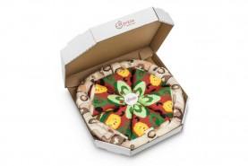 Vegetarian pizza Socks Box