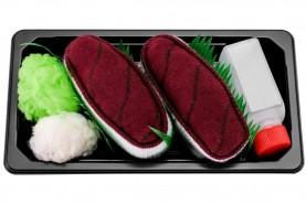 skarpetki tuńczyk nigiri na prezent, zestaw 1 para, produkt uniseks