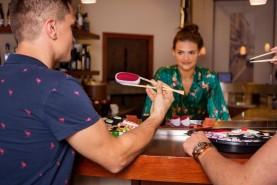 sushi skarpetki z tuńczykiem 1 para, oryginalny prezent na wiele różnych okazji