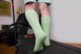 Long socks non slip Grip ABS