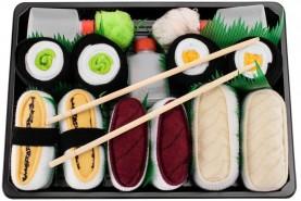 Sushi skarpetki 5 par, śmieszne bawełniane skarpetki sushi wysokiej jakości
