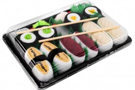 Sushi skarpetki 5 par: tamago, ryba maślana, tuńczyk maki, produkt uniseks