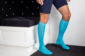Men knee high socks