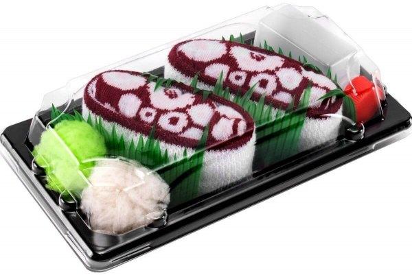 Skarpetki Sushi Socks Box - 1 para - Octopus Brąz