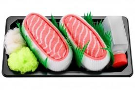 Salmon socks